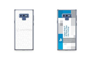 Galaxy Note 9 2018 2d PC Clear Case