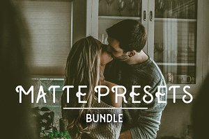 Matte Faded Lightroom Presets Bundle