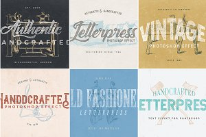 Letterpress Text Effect Pack