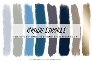 Brush Strokes Clipart