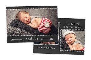 Birth Announcement Template CB052