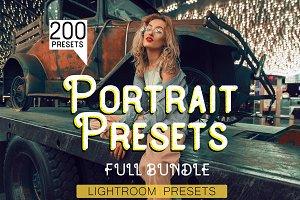 200 Portrait Presets for Lightroom