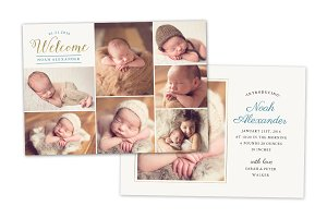Birth Announcement Template CB069