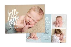 Birth Announcement Template CB088