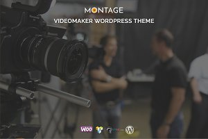 Montage - Videomaker WordPress Theme