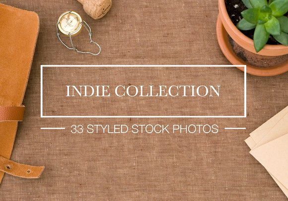 Stock Photo Bundle: Indie Collection