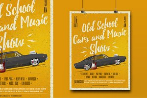 Cars and Music Show Poster.