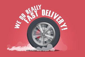 We do really fast delivery.