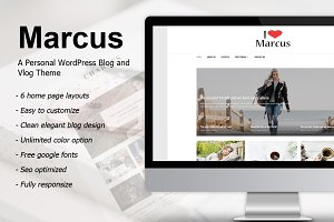 Marcus - A Personal WordPress Blog