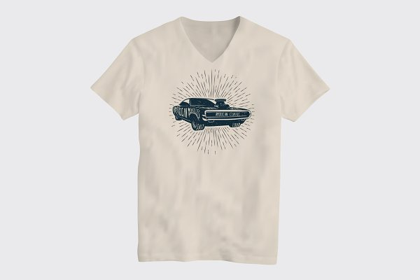 Classic Muscle Car T-Shirt Design