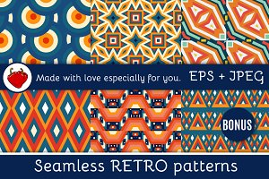 Geometric retro pattern for your