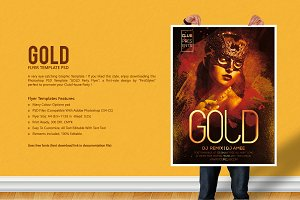GOLD 'Party Flyer'