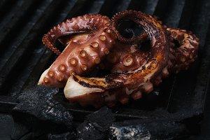 octopus grill bbq
