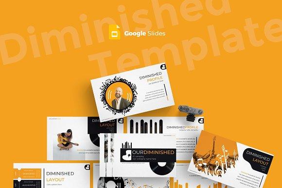 Diminished - Google Slides Template