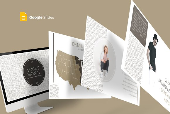 Vogue Monal - Google Slides Template