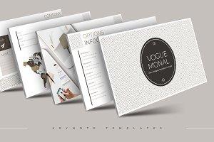 Vogue Monal - Keynote Template