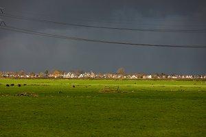 Dutch village of Landsmeer