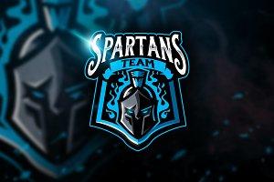 Spartans Team - Mascot & Esport Logo