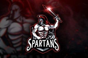 Spartans - Mascot & Esport Logo