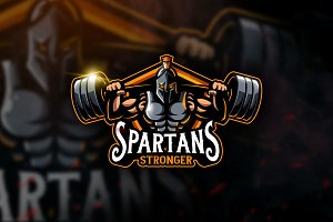 Spartans Stronger - Mascot & Esport