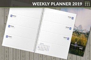 Weekly Planner 2019 (WP040-19)
