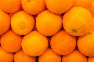 Oranges market background