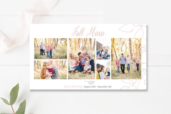Fall Minis Facebook Cover Template
