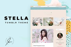 Stella Tumblr Theme