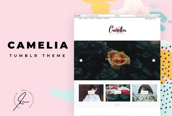 Camelia Tumblr Themes