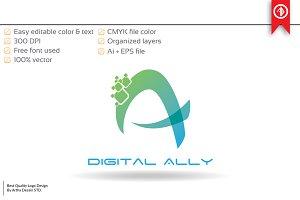 Creative Digital Logo Template