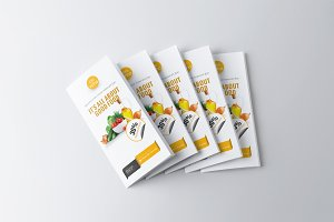 Food Menu Trifold