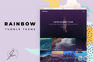 Rainbow Tumblr Themes
