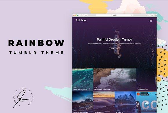 Rainbow Tumblr Themes