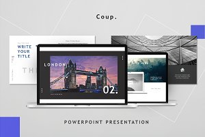Coup - Powerpoint Template