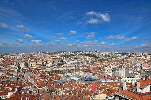 Lisbon panoramic view