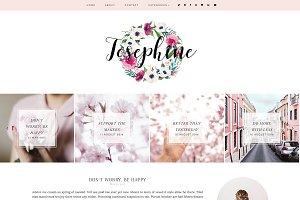 Josephine | Blogger template
