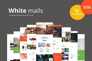 White Mails - 16 Email Templates