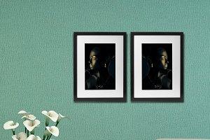 15 Room Frame Mockup