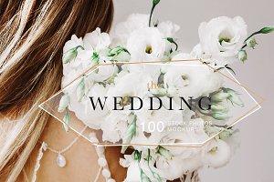 WEDDING BUNDLE. PHOTOS+MOCKUPS