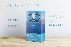MAVIC.AIR LUTs CINEMATIC 4K CUBE