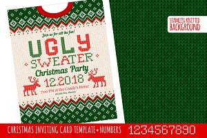 Ugly Sweater Х-mas Party Invite GW