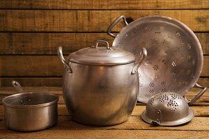 antique pan