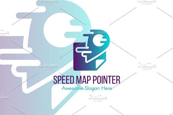 Speed Map Pointer Logo