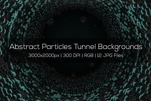 Abstract Particles Backgrounds