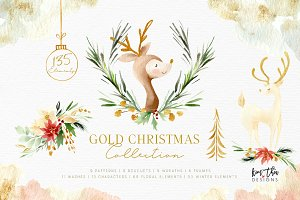 Gold Christmas Collection