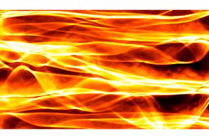 Abstract red smoke Fire over black