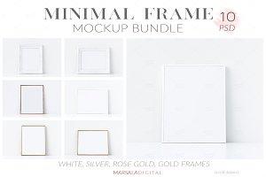 Minimal Frame Mockup Bundle