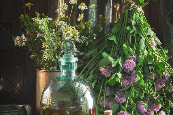 Health Stock Photos - Herbal medicine.