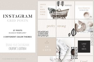 Instagram Grid Posts - Creator
