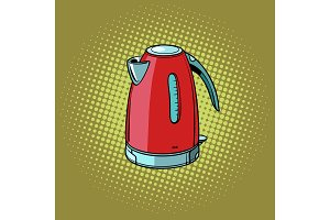Electric kettle, kitchen equipment